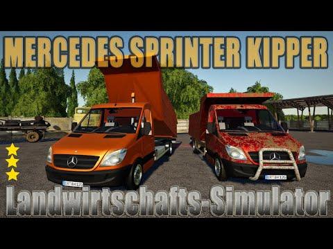 Mercedes Sprinter Kipper FS19 v1.0