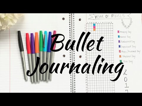 Therapy with Me| Bullet Style Journaling For Mental Health