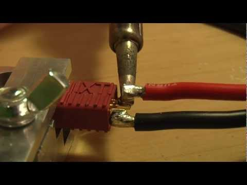 forresttrenaman - A quick video showing how I solder deans connectors.