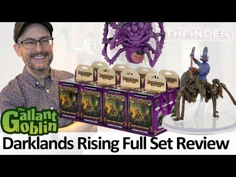 Darklands Rising Minis Full Set Review - WizKids Paizo Pathfinder Battles