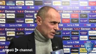 Preview video Mister Martusciello al termine di Empoli-Genoa
