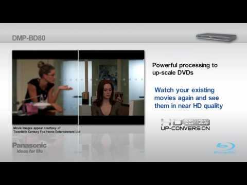 Panasonic Blu-ray Player BD80