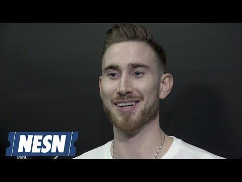 Video: Gordon Hayward Celtics vs. Hawks Postgame Locker Room 12/14