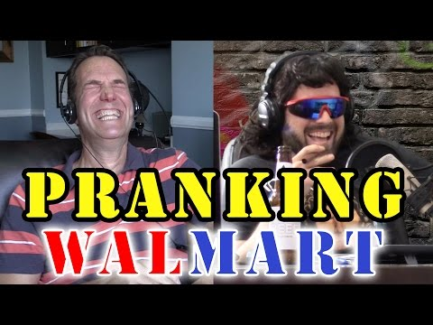 Pretty Awesome Prank Call to WalMart - Pretending to be Corporate Call Monitors