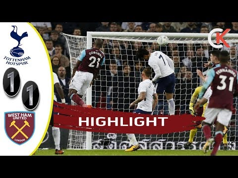 Tottenham vs West Ham 1-1 Highlight & Goals 04/01/18