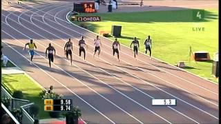100m世界歴代1位〜10位