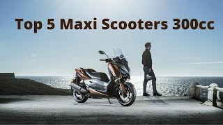 7. Top 5 Maxi Scooters 300cc (Under 35kW)