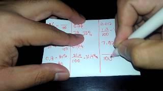 Mengubah Desimal Menjadi Persen (Desimal ke Persen) - Converting Decimals to Percents