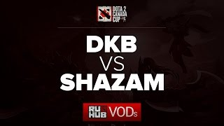 Shazam vs DKB, game 1
