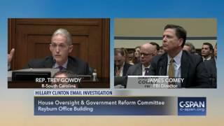 Video Rep. Trey Gowdy (R-SC) questions FBI Director Comey on Hillary Clinton Email Investigation (C-SPAN) MP3, 3GP, MP4, WEBM, AVI, FLV Agustus 2018