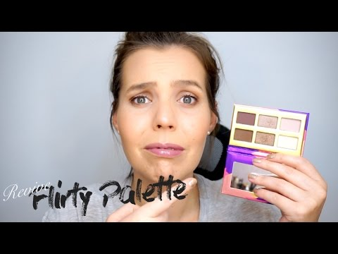 Revisión Paleta Flirty Glam Factor - Blackat Makeup