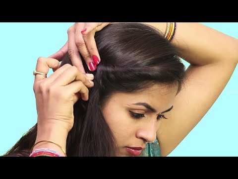 Hairstyles for short hair - Easy Self Hairstyle ideas 2018  Beautiful Hairstyle For Short Hair  Easy Hairstyle Tutorials 2018
