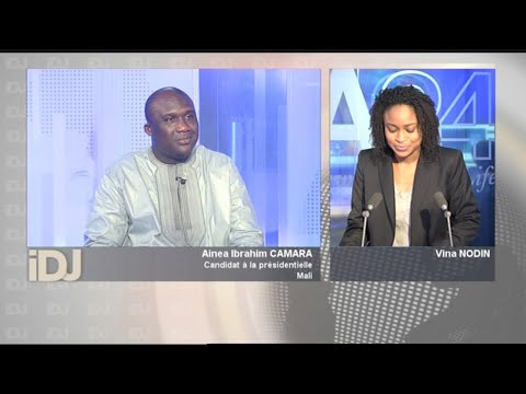 L'INVITE DU JOUR avec Ainea Ibrahim CAMARA Candidat à la présidentielle видео
