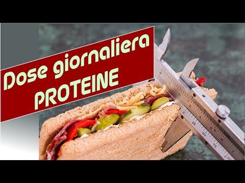 Dose giornaliera di proteine