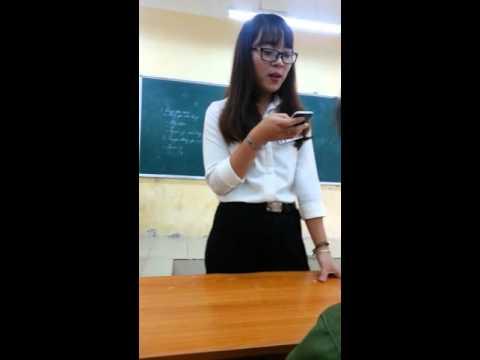 Cô giáo hát cực hay