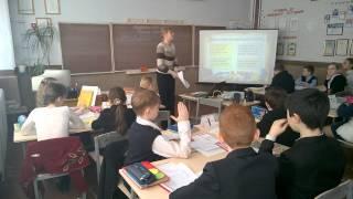 Відкритий урок української мови в 5 класі