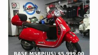 4. 2009 Vespa GTS 250 - Specification and Info