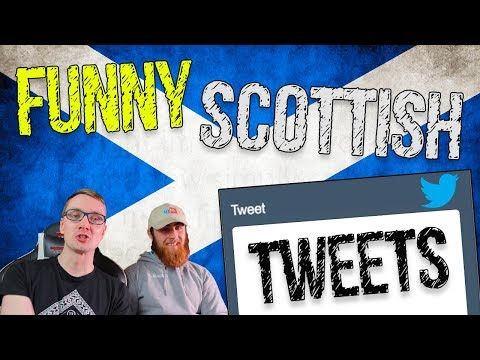 FUNNY SCOTTISH TWEETS WITH CRUIZAH