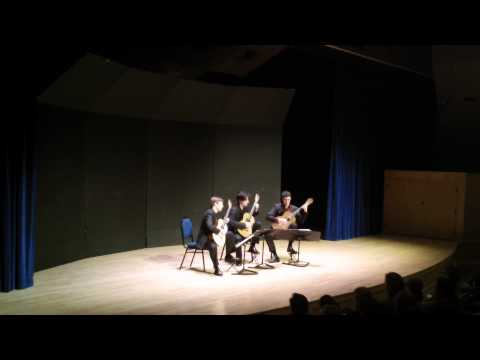 Victoria Guitar Trio Plays Albeniz