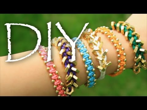 DIY: Arm Candy Bracelets