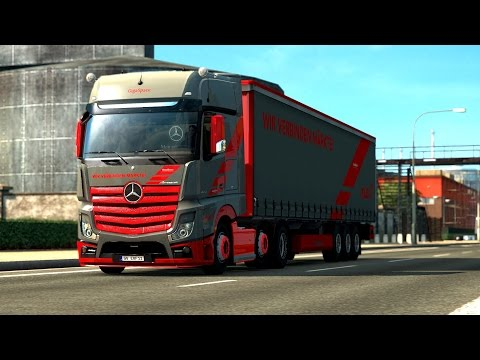 Mercedes Benz New Actros Loud Pipe Sound