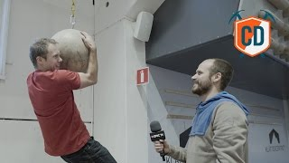 Matt Gets His Hands On A Big Ball: Klettercentret Akkala Gym Tour | Climbing Daily Ep.847 by EpicTV Climbing Daily