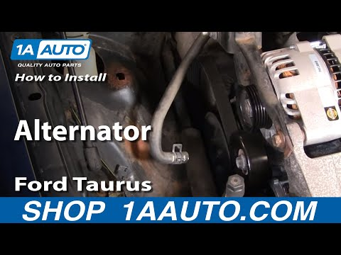 How To Install Replace Alternator Ford Taurus V63.0L 00-07 1AAuto.com
