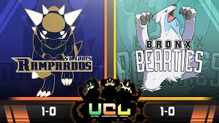St. Louis Rampardos VS Bronx Beartics! Week 2 UCL S2   Falling Asleep Pokemon Live WIFI Battle by aDrive