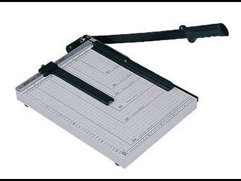 Paper Cutter unbox and review