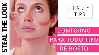 Contorno Para Cada Tipo de Rosto | Steal The Look Beauty Tips