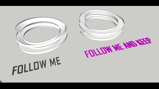 "Video Tutorial Sketchup - Make a Ramp by using ""Follow Me and Keep"" (Plugin) MP3, 3GP, MP4, WEBM, AVI, FLV Desember 2017"