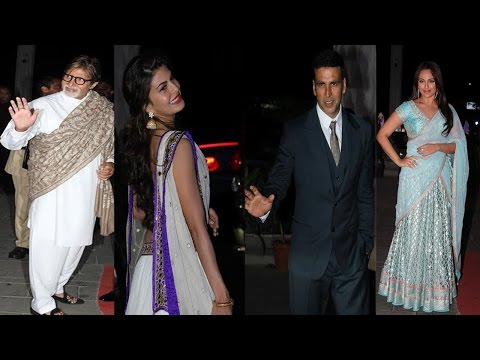 Amitabh Bachchan, Akshay Kumar, Sonakshi Sinha & More Celebs At Wedding Reception Of Tulsi Kumar