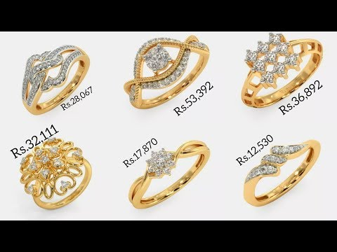 Latest Diamond Rings Designs with PRICE