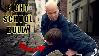 How do you fight a school bully