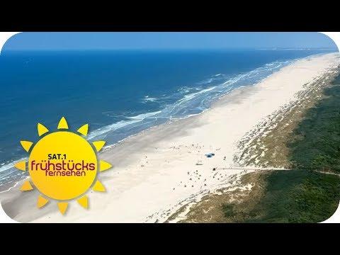 Juist: Die schönste Sandbank der Welt | SAT.1 Frühstü ...