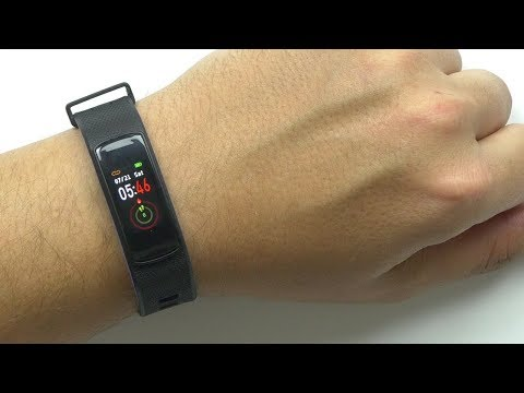 Cool Fitness Tracker w/ USB Charging