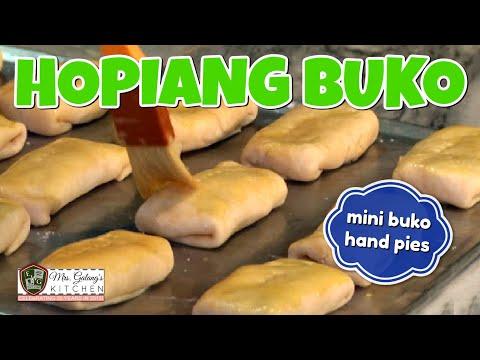 HOPIANG BUKO aka MINI BUKO HAND PIES (Mrs.Galang's Kitchen S7 Ep13)