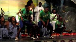 Ethiopian Cultural Music And Dancing At Yod Abyssinia Restaurant In Addis Abeba
