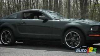 2008 Ford Mustang Bullitt Review By Auto123.com