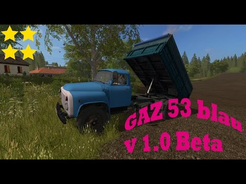GAZ 53 blue Beta