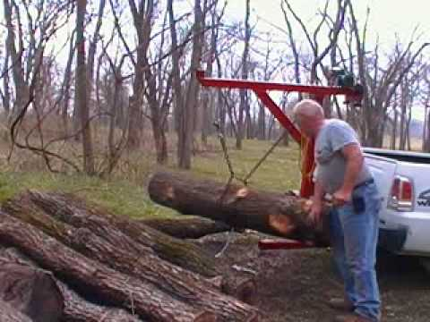 Home Made Log Lifter 3