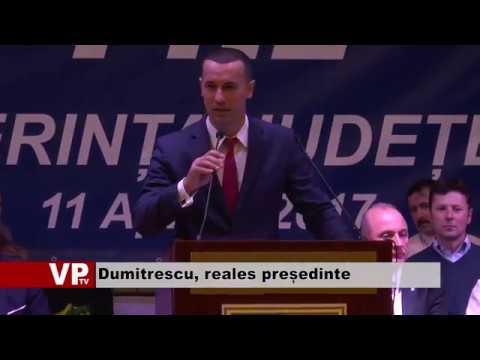 Dumitrescu, reales președinte