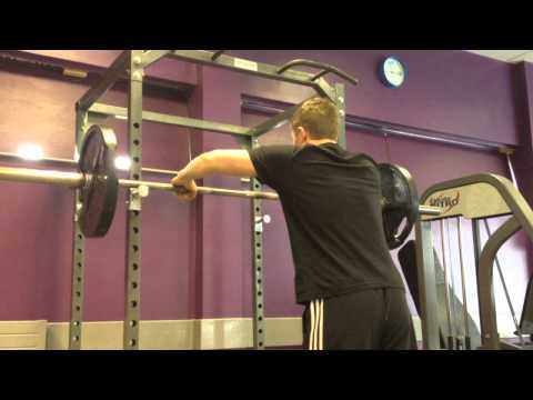 Teen 1 Rep Max On The Military Press 60 Kg / 135 Pounds