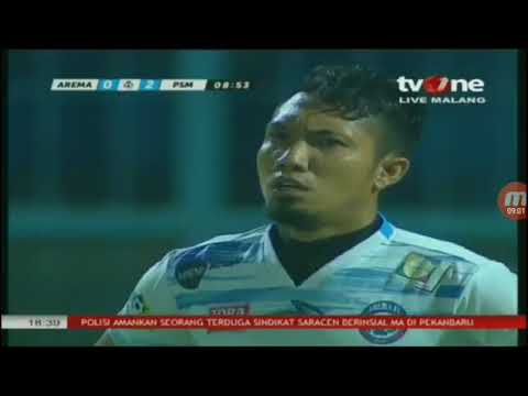 seru/// Come back Arema fc vs PSM Makassar. 3-3 full HD