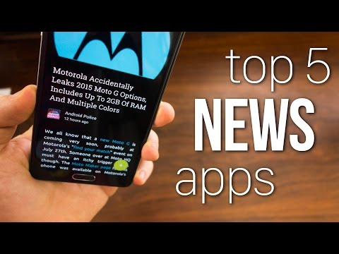 Top 5 News Reader Apps!