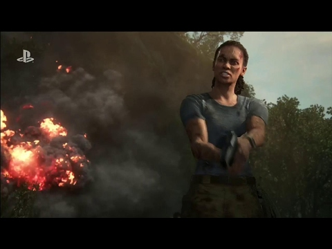 Uncharted: The Lost Legacy Official 4K Story Trailer - E3 2017: Sony Conference