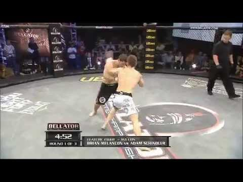 Adam Schindler vs Brian Melancon at Bellator 20 May 27 2010