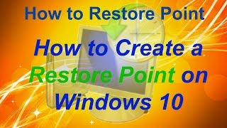 How to Restore Point on Windows 10  How to Set a Restore Point Windows Restore Point is a how to video that will show you how to successfully create a system restore point on Windows 10.https://youtu.be/oq1W7i5JcS4https://www.youtube.com/channel/UCFBxyLMer62Dr4cmdMeQP4A