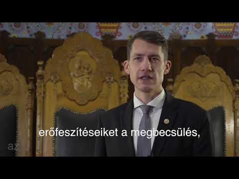 Dr. Pásztor Bálint újévi köszöntője-cover