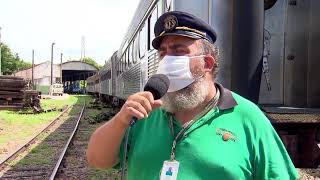 Após restaurados, vagões voltam a rodar em Sorocaba